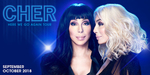 [NSW] Cher Here We Go Again! Tour (Qudos Bank Arena) - 18 Oct: $99 + Booking Fee | 20 Oct: $79 + Booking Fee @ Lasttix