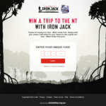 Win 1 of 3 Fishing Trips to the NT Worth $22,605 or Iron Jack Merchandise Instant Win Prizes [Purchase Iron Jack Beer]