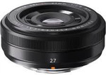 Fujifilm XF 27mm F2.8 - Black $199.95 ($99.95 after Cashback Redemption) @ Ted's Camera