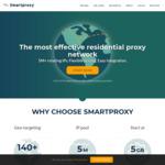 30% off Selected Plans - US $52.50/Month (~AU $72) @ Smartproxy