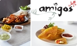 $39 for a Mexican Banquet for two at Amigos. Lygon, Acland + Chapel streets [Melb] Normally $90