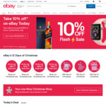 20% off 68 Stores @ eBay