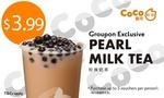 [NSW] $2.99 Pearl Milk Tea @ Coco Fresh Tea & Juice via Groupon
