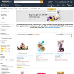 Buy One, Get 50% off The Lowest Priced Item on Select Pet Toys @ Amazon AU