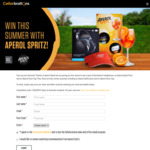Win a Sennheiser & Aperol Prize Pack Worth $384 or 1 of 2 Aperol Prize Packs from Cellarbrations/The Bottle-O/IGA Liquor