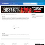 [VIC] Jersey Boys (Regent Theatre) $75 + $9.20 Booking Fee @ Ticketmaster