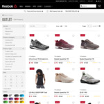50% off Outlet Items (Clothing, Shoes & Accessories), $8.50 Delivery or Free with $100 Spend @ Reebok