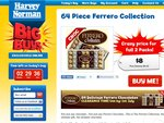 64 Ferrero Chocolates (Ferrero Collection) For $13 Delivered. Best Before 1st July 2011 ALL SOLD