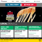 3 Traditional Pizzas $22.95 Pick up @ Domino's