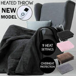 Heated Electronic Throw Rug Blanket with 9 Heat Level Settings $45 Delivered @ T2s-Au eBay