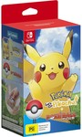 [Switch] Pokemon: Let's Go, Pikachu! or Eevee! + Poke Ball Plus Bundle $69 @ BIG W