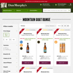Mountain Goat Cases $50 (WA, TAS, VIC), $53 (NSW, ACT, SA, QLD) @ Dan Murphy's