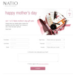 Win 1 of 3 Natio Mother's Day 'From The Heart' Gift Sets Worth $69.95 from Natio