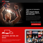 UFC Fight Pass 1 Month for $1 @ UFC