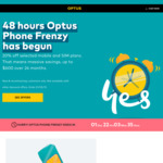 20% off Selected Mobile Handset and Postpaid SIM Plans @ Optus