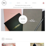 15% off Personalised Journals, Key Rings, Gift Set Box + $10 Shipping (Free over $150 Spend) at Letters by Susu