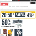 20-50% off Barbeques, Outdoor Living (e.g Doca 3 Piece Modular Lounge $399) and More @ Barbeques Galore