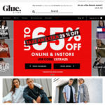 Extra 25% Clearance Item @ Glue Store