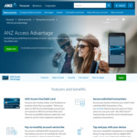ANZ Access Advantage Rebate of Account Service Fee (up to $300 Back)