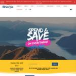 10% off $50+ Spend, 15% off $100+ Spend, 20% off $150+ Spend, 25% off $200+ Spend @ Sherpa