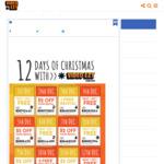 12 Days of Christmas - Various Discount Codes - Eg: 3rd Dec 1 Free Rental @ Video Ezy Express Kiosks