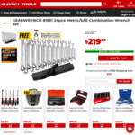 GEARWRENCH 81931 24pce Metric/SAE Combination Wrench Set $79 + Delivery @ Sydney Tools