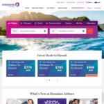 7% off Return Economy Fares @ Hawaiian Airlines