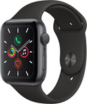 Apple Watch Series 5 44mm Space Grey Case, Black Band, GPS $637 + Delivery ($0 C&C) @ Harvey Norman ($605.15 OW Pricebeat)