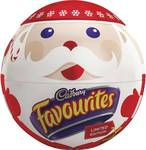 [VIC] Cadbury Favourites Christmas Bowl 700g $5 at Woolworths (QV Melbourne)