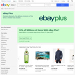 12x $5 Voucher/Month ($50 Min Spend) with New Paid eBay Plus Membership ($49/Year)