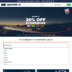 20% off Storewide (Exclusion Applies) @ Sparesbox