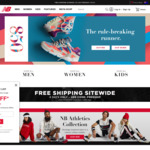 40% off Full Priced Items @ New Balance (6% Shopback Cashback)