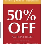 [VIC] 50% Off All Retail Items For A Limited Time @ Lindt DFO