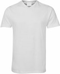 V Neck White T Shirt with Custom Printing - S to 2XL $8.99 + Delivery @ GOOGOOBARRA