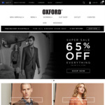 Oxford Shop 65% off Sitewide