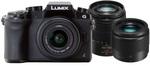 Panasonic LUMIX DMC-G7 Camera Black With 14-42mm, 45-150mm & 25mm Lens Kit $944 ($18 Ship; $0 Perth p/up) @ Camera Electronic