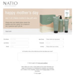 Win 1 of 15 Mother's Day Gift Packs Worth Up to $209.85 from Natio