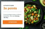 3x or 5x Woolworths Rewards Points on Every Shop @ Woolworths [Activation Required]
