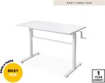 Standing Desk $199 (Manual) @ ALDI Special Buys Saturday 06/06