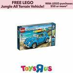 [eBay Plus] LEGO 10252 Creator Volkswagen Beetle $95.20 Delivered @ Toys R Us eBay Store