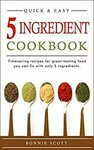[eBook] 5 Ingredient Cookbook: Timesaving Recipes| Becoming Toxic People's Worst Nightmare $0 + More @ Amazon AU/US