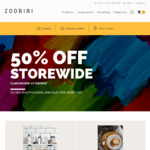 50% off Storewide (Excludes New, Beauty/Cleaning, Bone Inlay, Food, Books & Art) @ Zoobibi