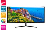 "Kogan 34"" WQHD Curved Ultrawide Monitor $699 + Delivery @ Kogan"