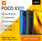 Xiaomi Poco X3 6GB/64GB US$213.90 (~A$293.80), 128GB US$263.90 (~A$362.20) Shipped @ AliExpress