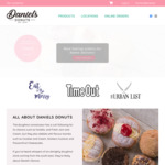 [VIC] Free Shipping (Min. $45 Spend) @ Daniel's Donuts