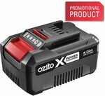 Ozito 18v 4 AH Battery $48 @ Bunnings