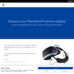 [PS5] Free PlayStation Camera Adapter to Connect PS VR to PS5 (PS VR Serial Required) @ Sony