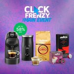 Up to 58% on Selected Lavazza Coffee Machines and Capsules - Tiny White Capsule Machine $79 Delivered & More @ Lavazza