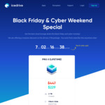 Icedrive Lifetime 2TB Cloud Storage US$229 (~A$311) Black Friday Offer