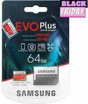 [eBay Plus] Samsung Evo Plus MicroSD 64GB $9.95 (SOLD OUT), Webcam $19.95, Air Fryer $89 & More Delivered @ Ninja Buy eBay